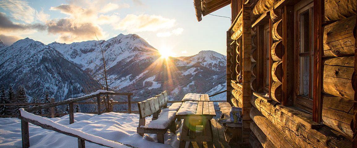 Selbstversorgerhütte in Flachau