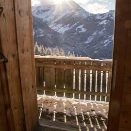 Aussicht der Hütte in Flachau